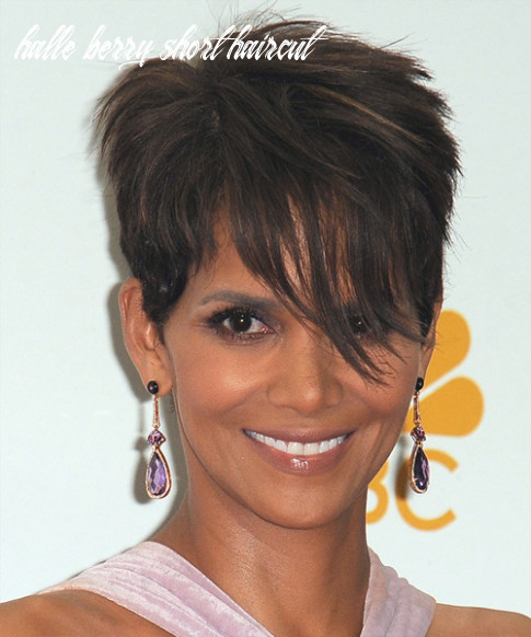 12 halle berry hairstyles, hair cuts and colors halle berry short haircut