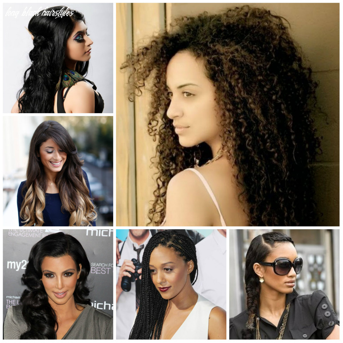 12 hottest long black hairstyles | 12 haircuts, hairstyles and