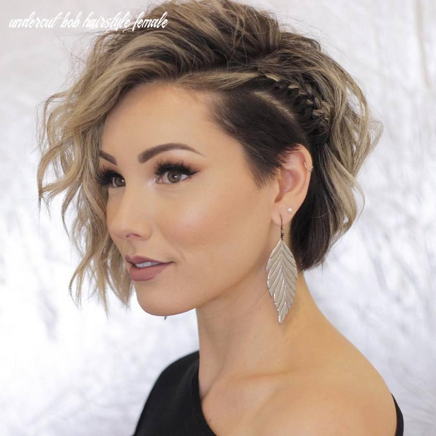 12 impressive undercut bob hair ideas belletag undercut bob hairstyle female