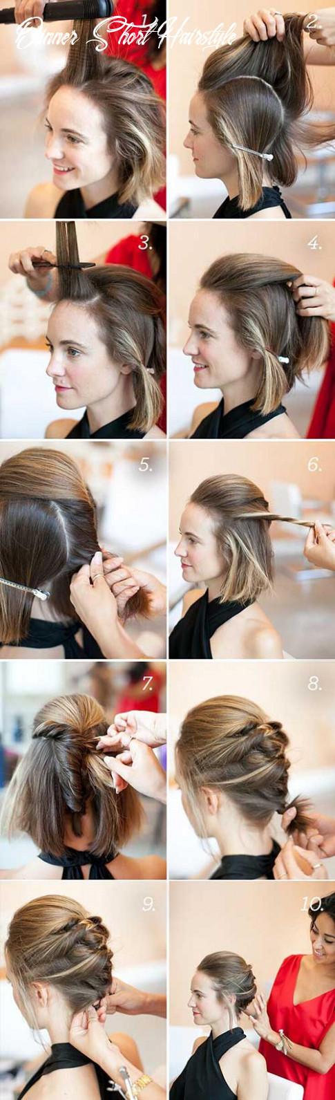12 incredible diy short hairstyles a step by step guide dinner short hairstyle