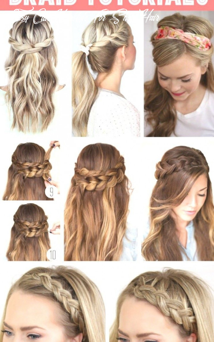12 inspirational fast, easy, cute hairstyles for girls | cute