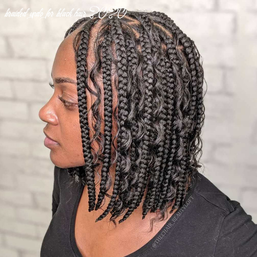 12 jaw dropping braided hairstyles to try in 12 hair adviser braided updo for black hair 2020