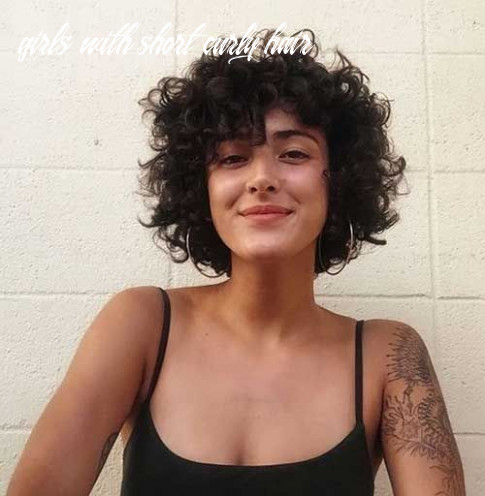 12 latest hairstyles for short curly hair | short curly haircuts