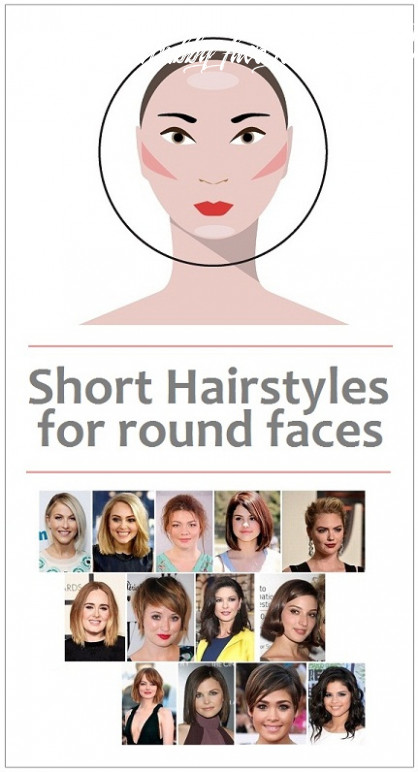 12 latest short haircuts for round face women in 12 | styles at life haircut for chubby face female 2020