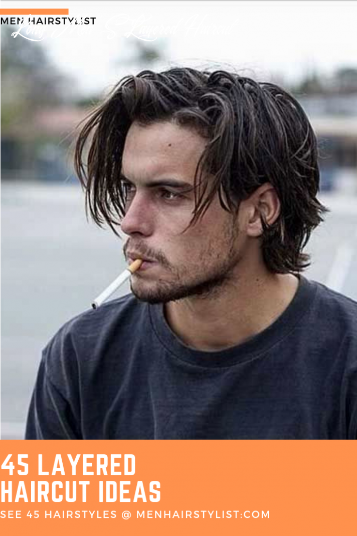 12 layered haircuts for men with layered personalities   long hair