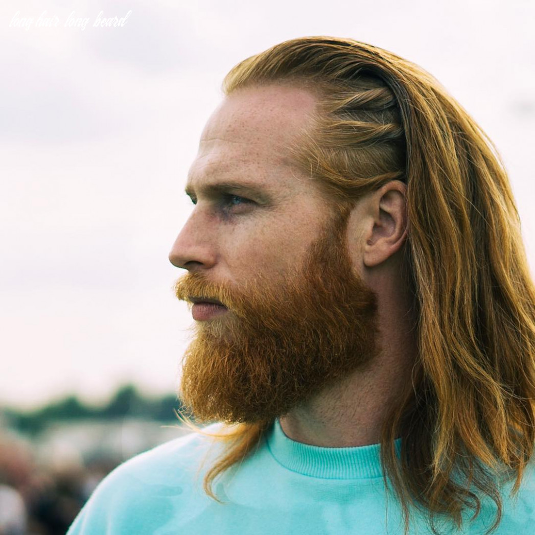 12 long hair: beard style ideas! smart, casual and professional