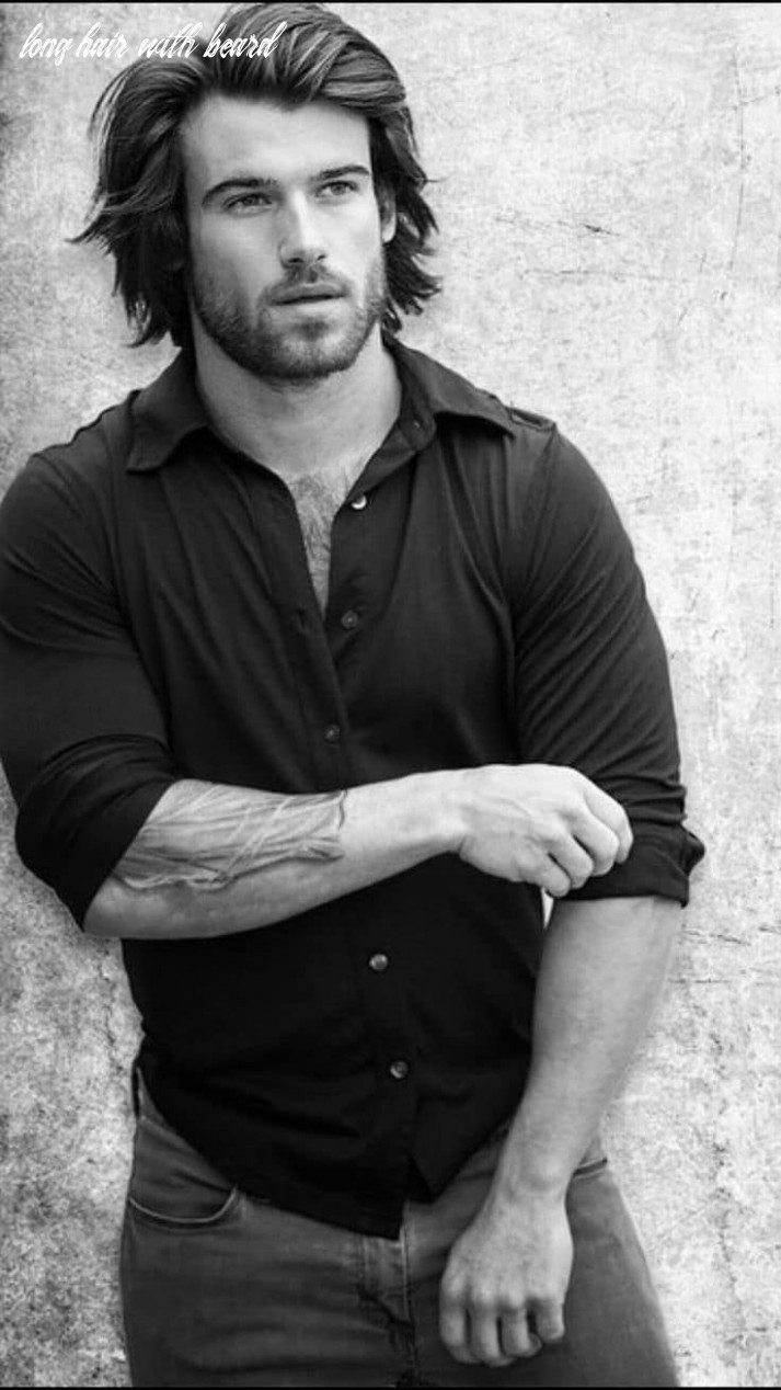 12 Long hair: beard style ideas! Smart, casual and professional ...