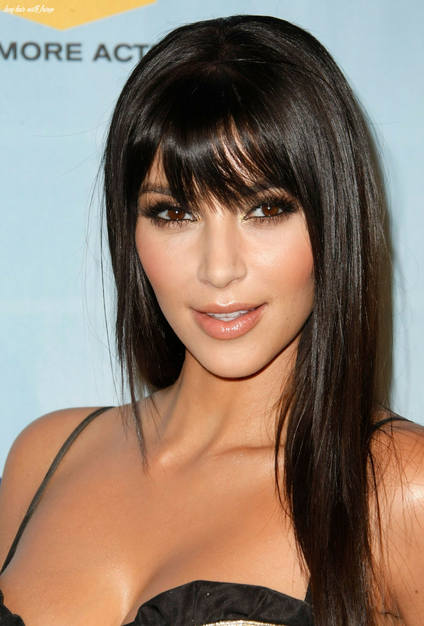 12 long hairstyles with bangs best celebrity long hair with