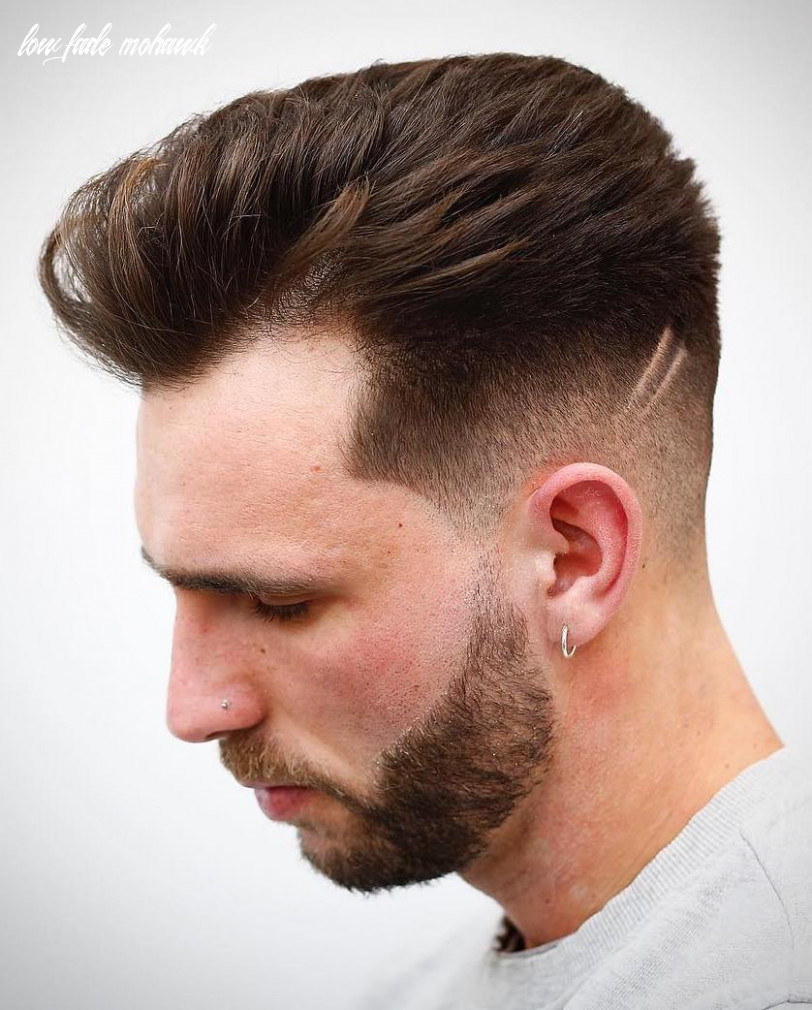 12 low fade haircuts for stylish guys low fade mohawk