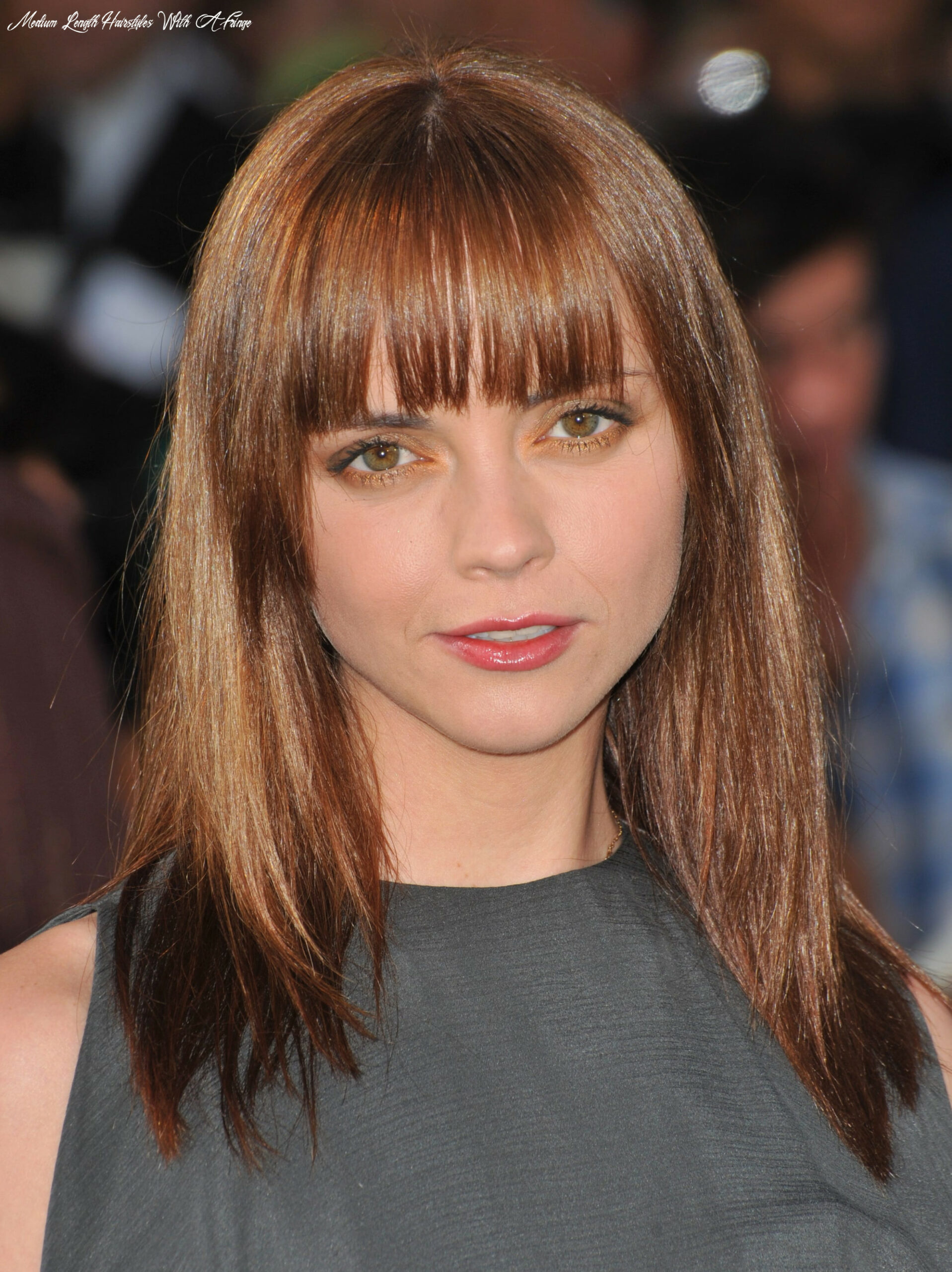 12 medium and shoulder length hairstyles for women | haircut