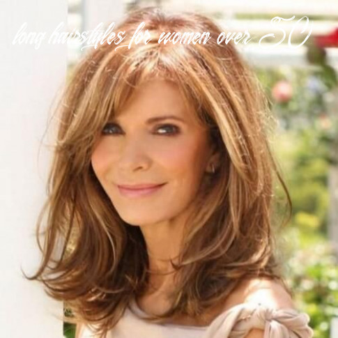 12 medium hairstyles for women over 12 | layered hair with bangs
