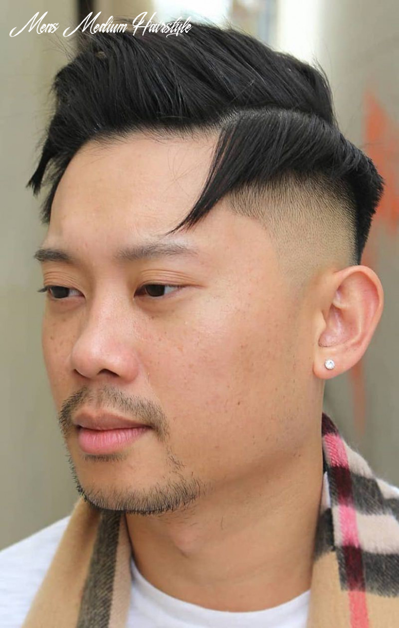 12 Medium Length Hairstyles for Men That Will Make a Statement