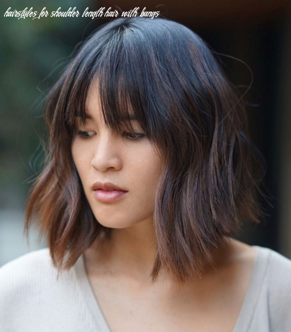 12 medium length hairstyles for thick hair ⋆ palau oceans hairstyles for shoulder length hair with bangs