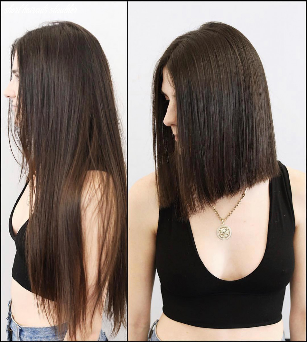 12 Medium Shoulder Length Short Haircuts For Women 12