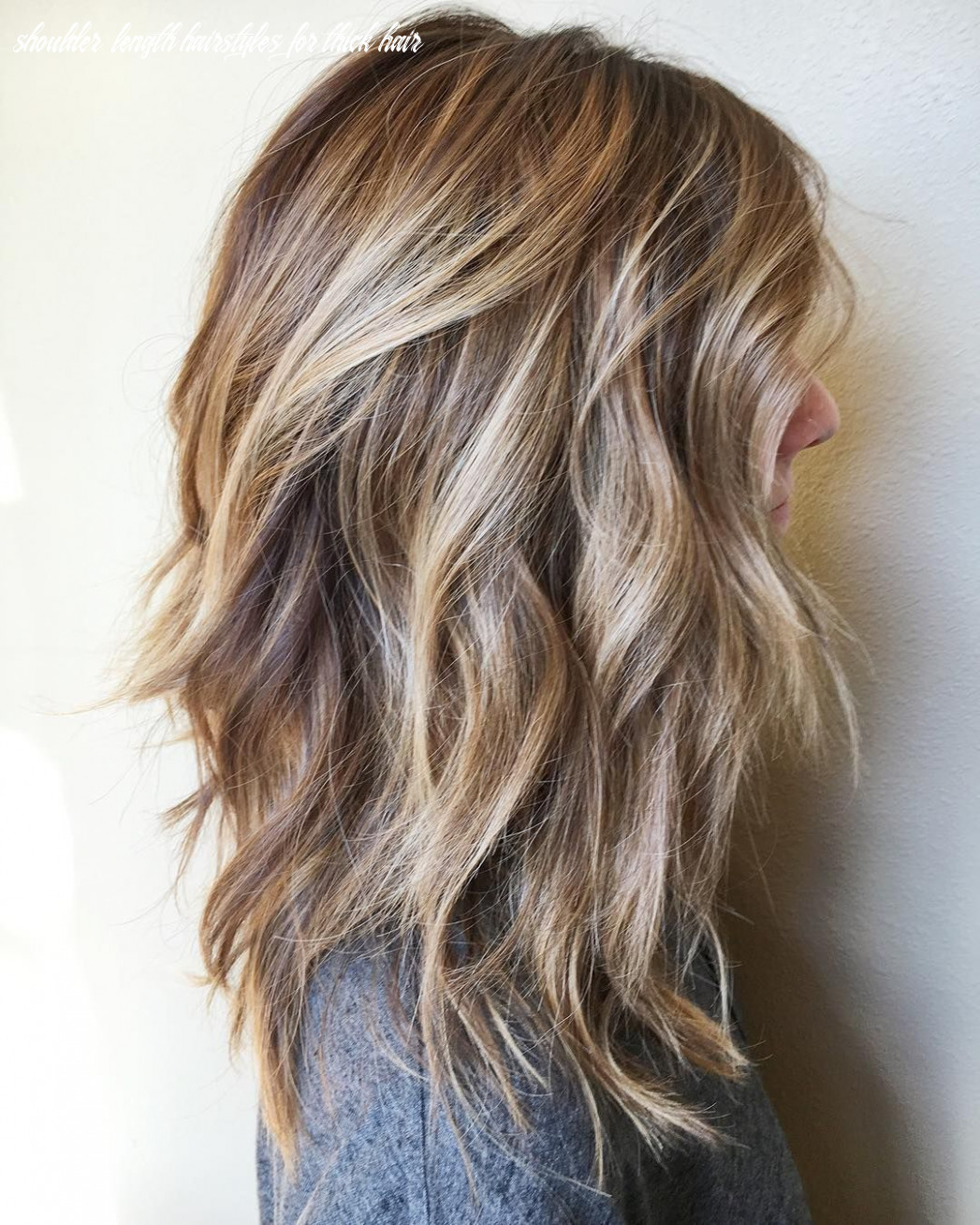 12 Messy Medium Hairstyles for Thick Hair 12 | Long hair styles ...