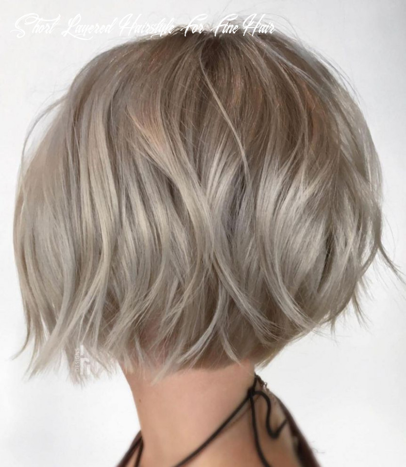 12 mind blowing short hairstyles for fine hair | ash blonde bob