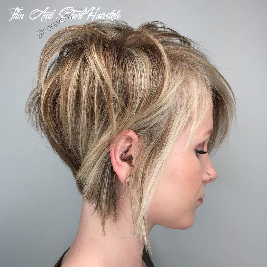 12 mind blowing short hairstyles for fine hair   short hair with