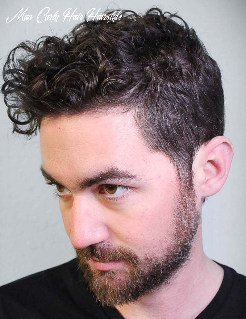 12 Modern Men's Hairstyles for Curly Hair (That Will Change Your Look)