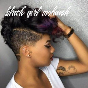 12 mohawk hairstyles for black women | short natural hair styles