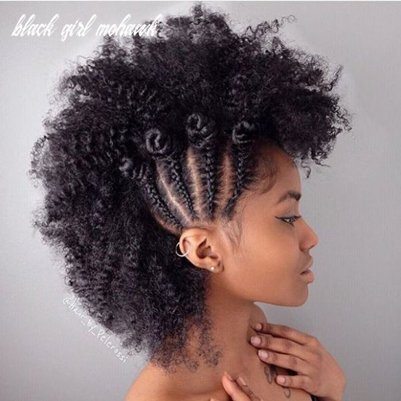 12 mohawk hairstyles for black women (trending in july 12) black girl mohawk
