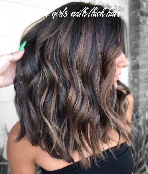 12 most beneficial haircuts for thick hair of any length hairstyles for girls with thick hair
