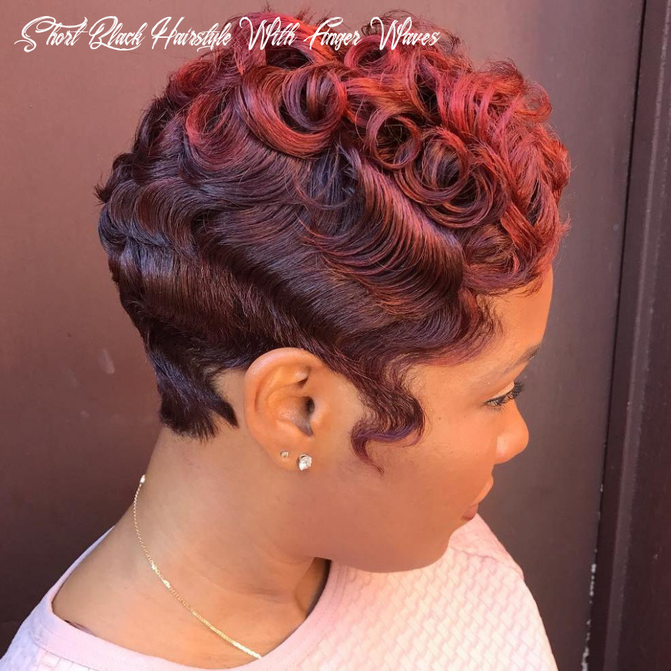 12 most captivating african american short hairstyles and haircuts short black hairstyle with finger waves