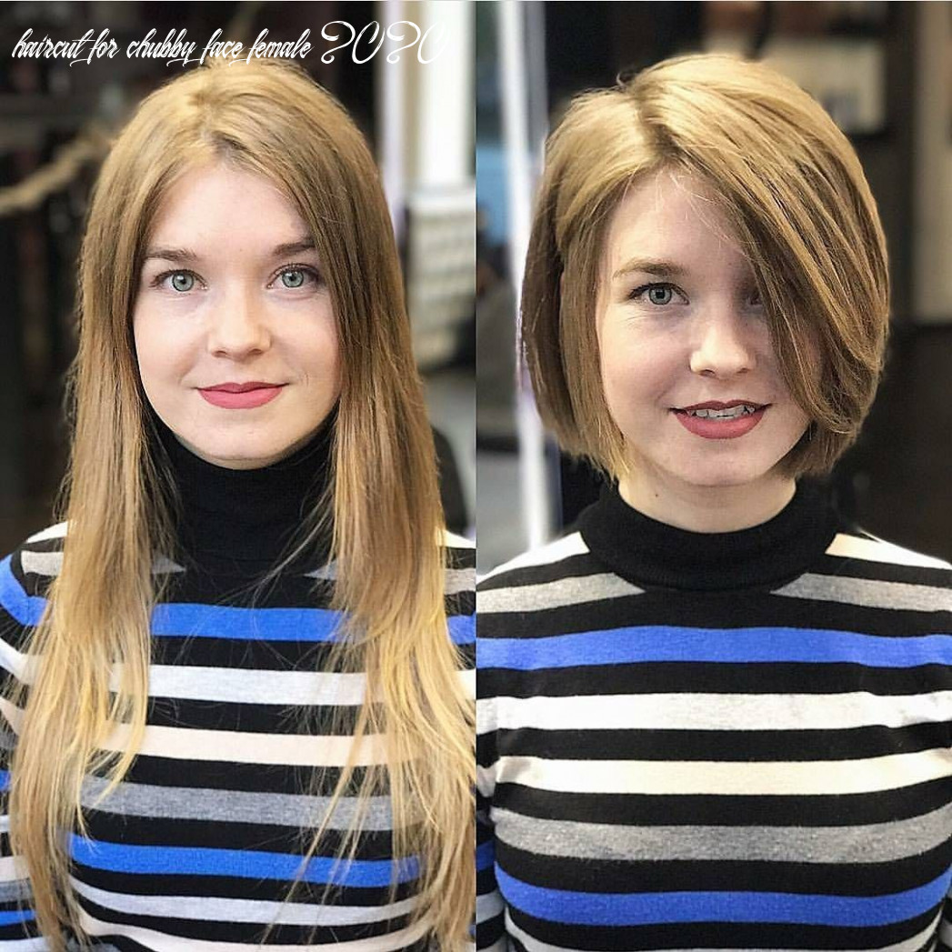 12 most flattering bob hairstyles for round faces 12 | fryzura