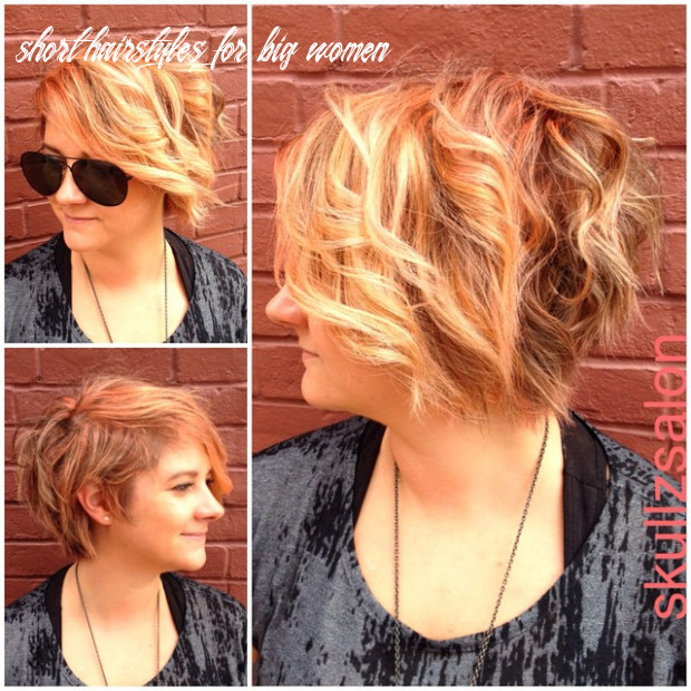 12 most flattering hairstyles for overweight woman [august, 12] short hairstyles for big women