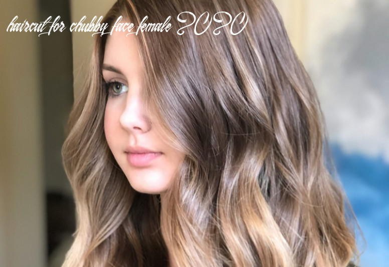 12 most flattering long hairstyles for round faces (12 trends) haircut for chubby face female 2020