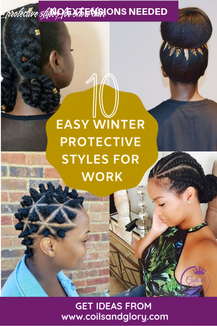 12 natural hair winter protective hairstyles for without