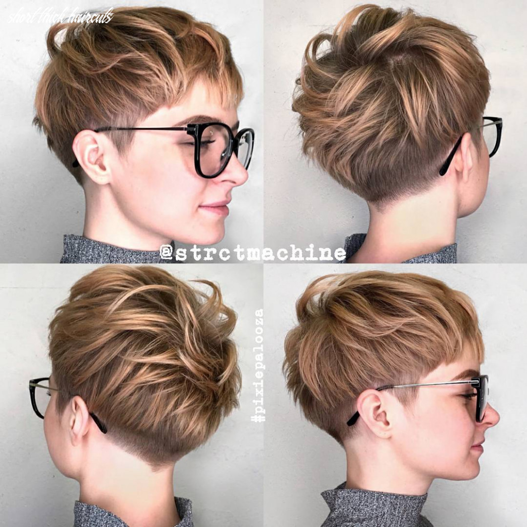 12 new short hairstyles for thick hair 12 short thick haircuts