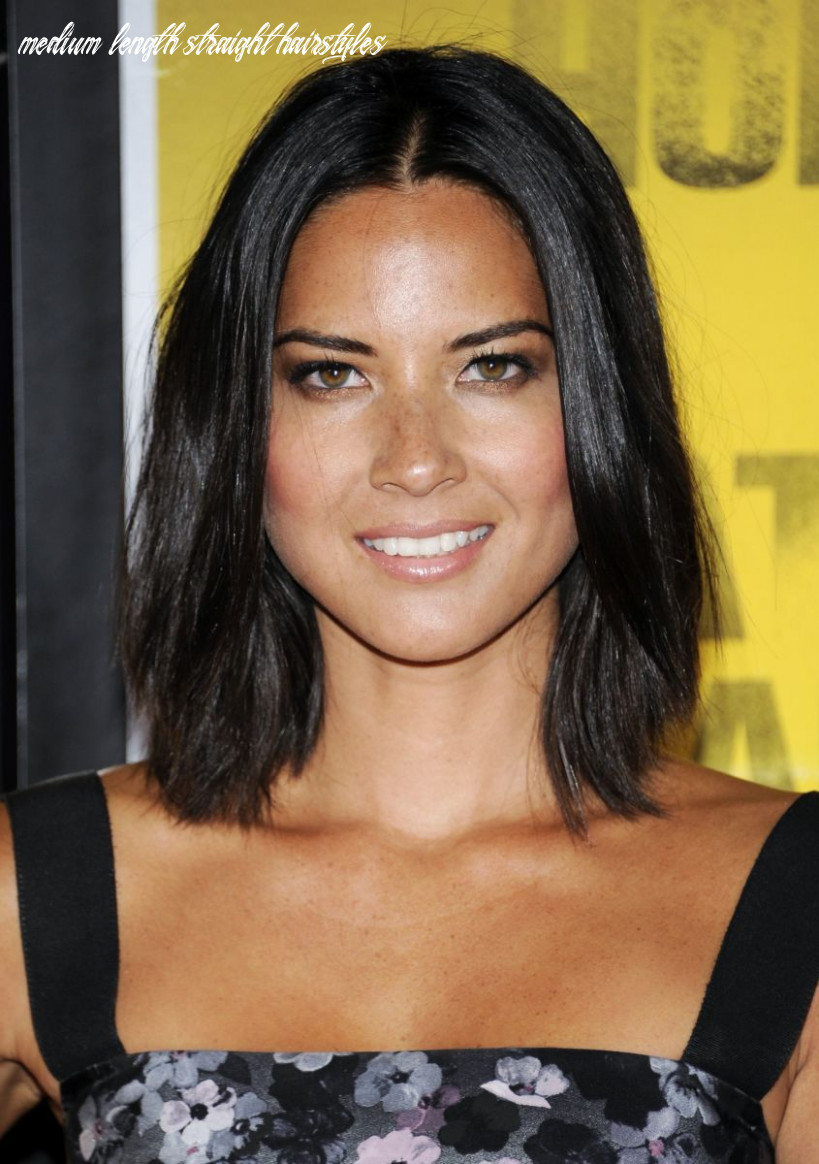 12 of the best hairstyles for medium length straight hair the