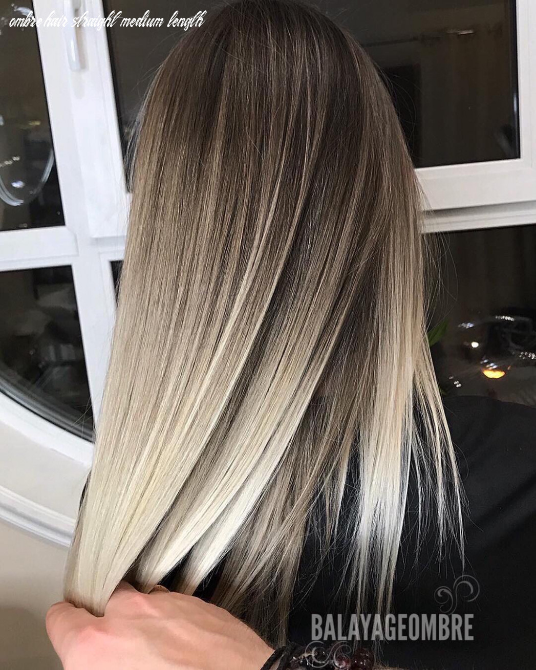 12 ombre balayage hairstyles for medium length hair, hair color 12 ombre hair straight medium length