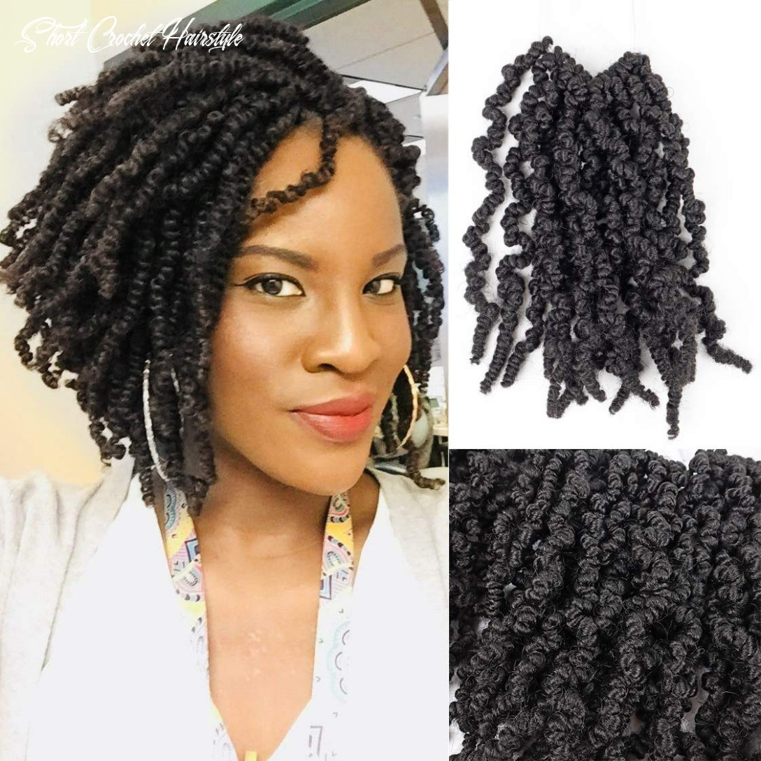 12 packs short spring twist hair 12 inch curly spring pre twisted braids synthetic crochet hair extensions pre twisted passion twists crochet braids