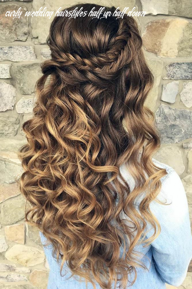 12 perfect half up half down wedding hairstyles | quince