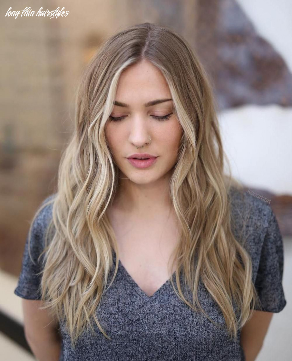 12 picture perfect hairstyles for long thin hair   long thin hair