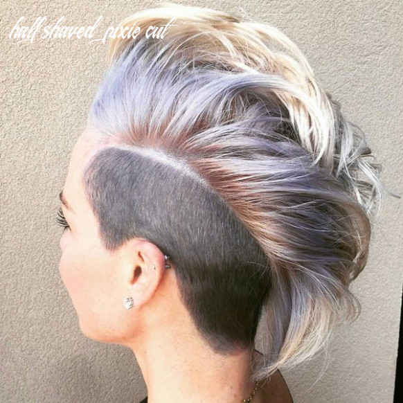 12 pixie cuts for thick/thin hair style easily half shaved pixie cut