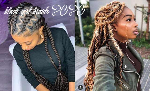 12 popular hairstyles for black women to try in 12   stayglam black girl braids 2020