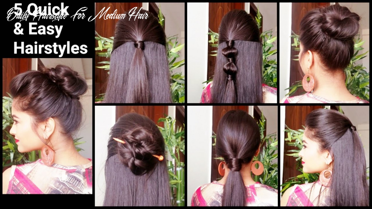 12 quick & easy hairstyles for medium to long hair//back to school hairstyles //indian hairstyles daily hairstyle for medium hair