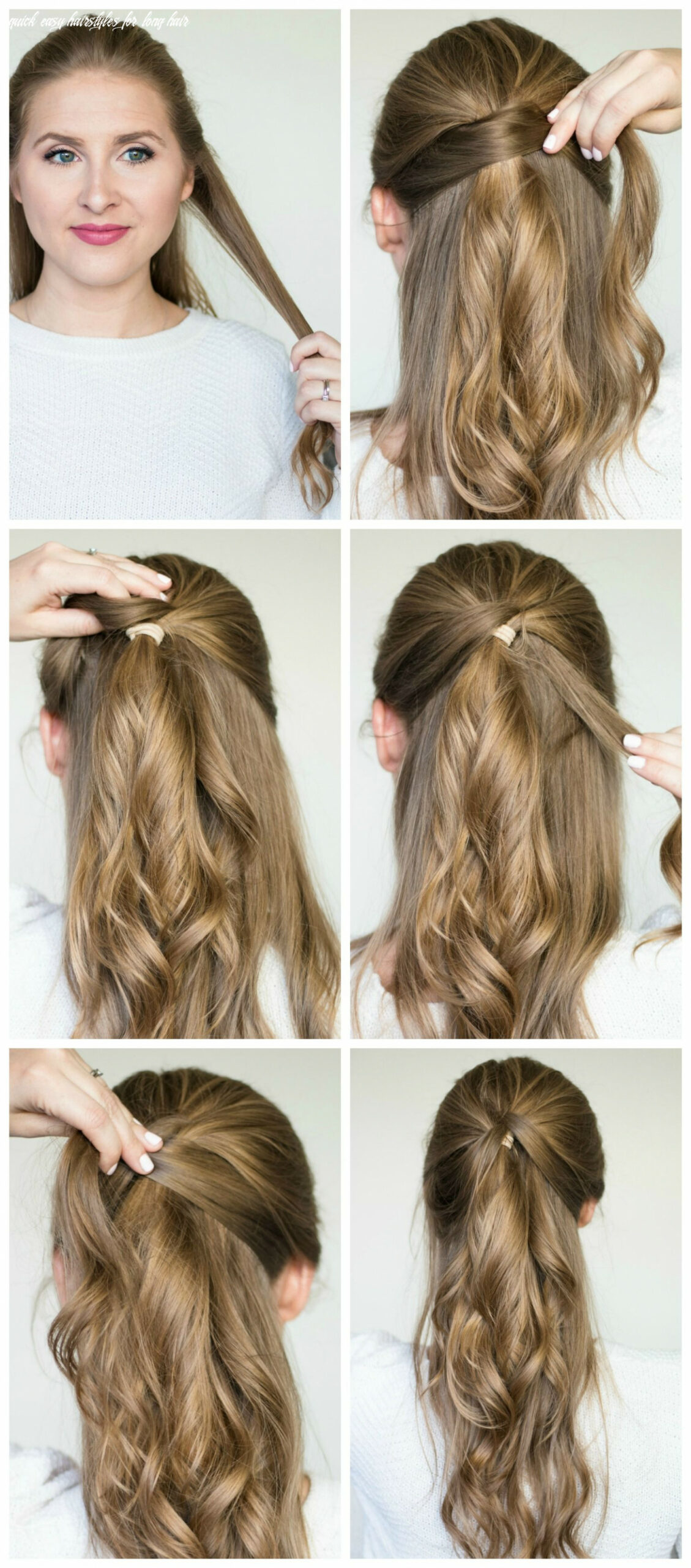 12 quick and easy hair styles step by step tutorials | party