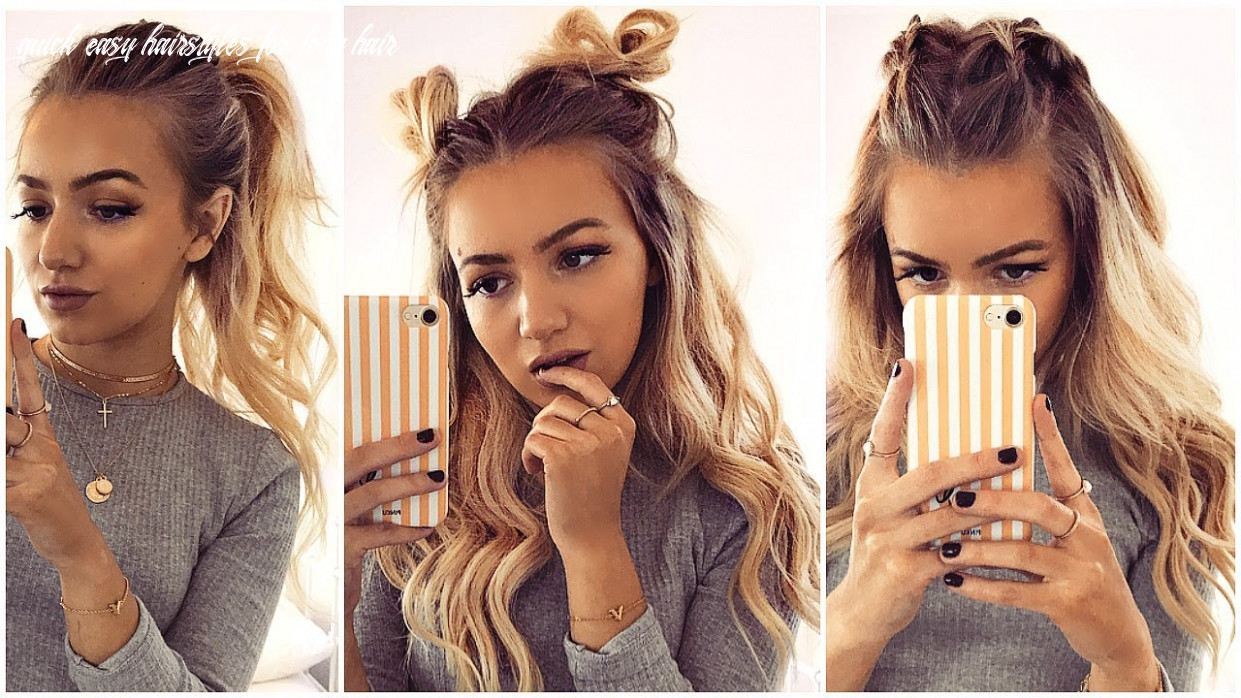 12 quick and easy hairstyles for long and short hair quick easy hairstyles for long hair