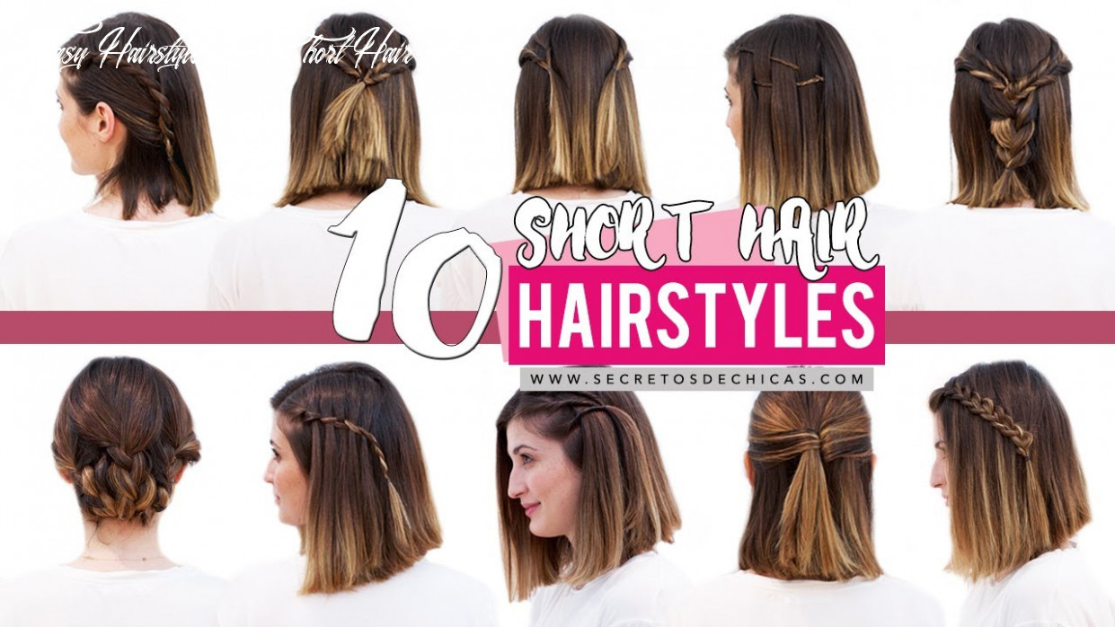 12 quick and easy hairstyles for short hair   patry jordan easy hairstyle in short hair