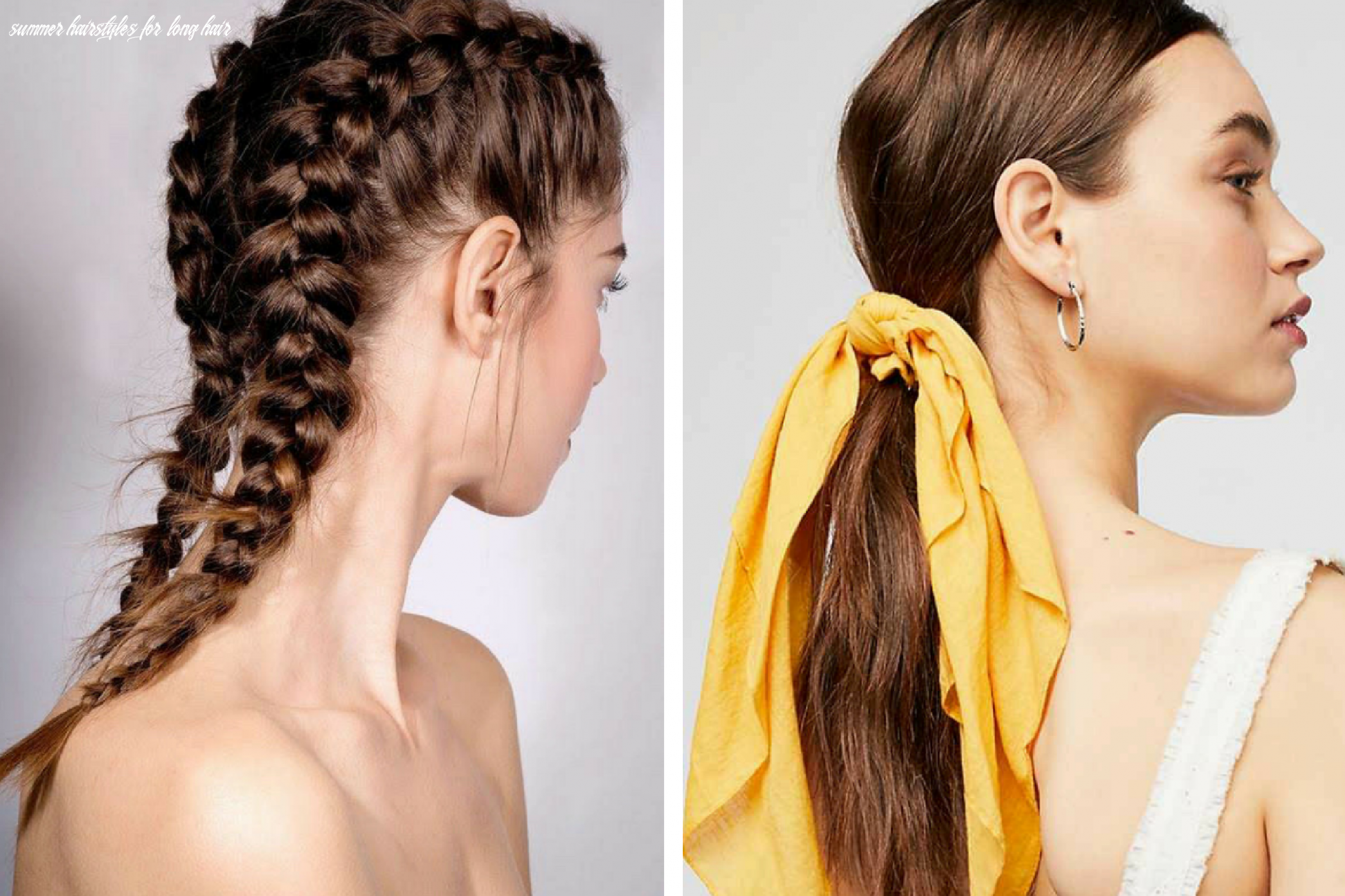 12 quick easy summer hairstyles to keep you cool all season long