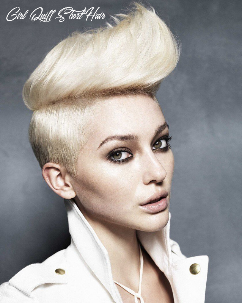 12 quiff short hairstyles for women | short hairstyles for women