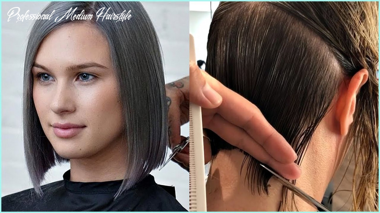 12 short and medium haircuts for women 😍 professional haircut professional medium hairstyle