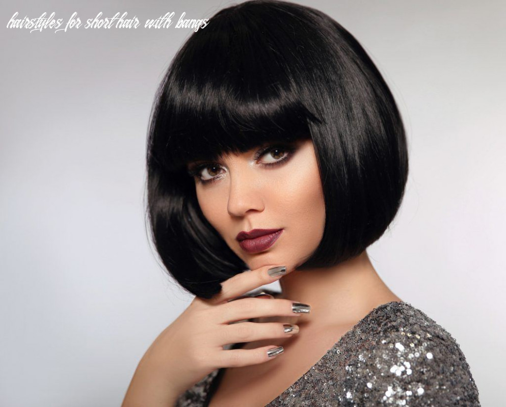 12 short black hair ideas to get inspiration from hairstyles for short hair with bangs