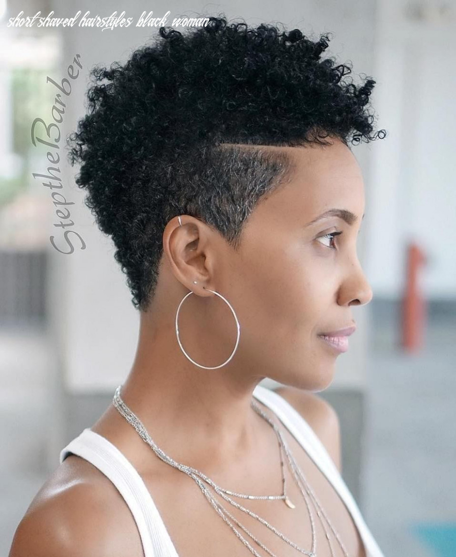 12 short haircuts for black women shaved on sides short shaved hairstyles black woman