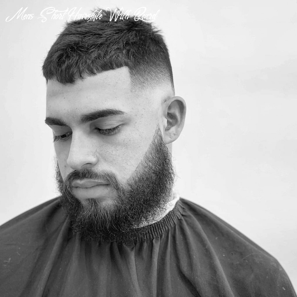 12 short haircuts for men (12 styles) mens short hairstyle with beard