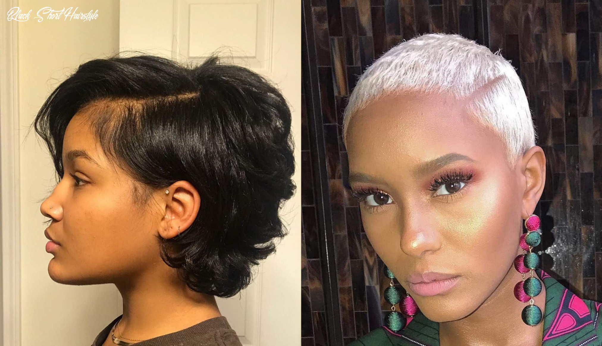 12 short hairstyles and haircuts for black women | stylesrant black short hairstyle