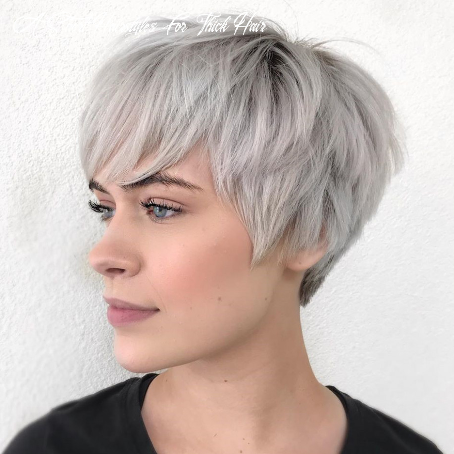 12 short hairstyles for thick hair (trendy in 12 12) ⋆ palau